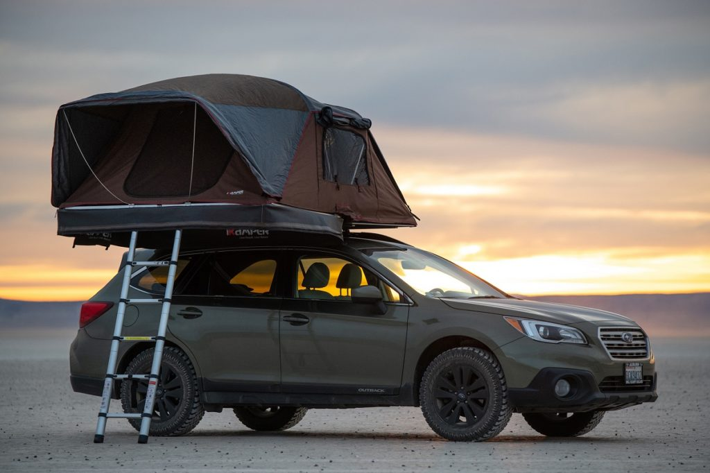 IKAMPER X-cover Rooftop Tent with Gear Rack