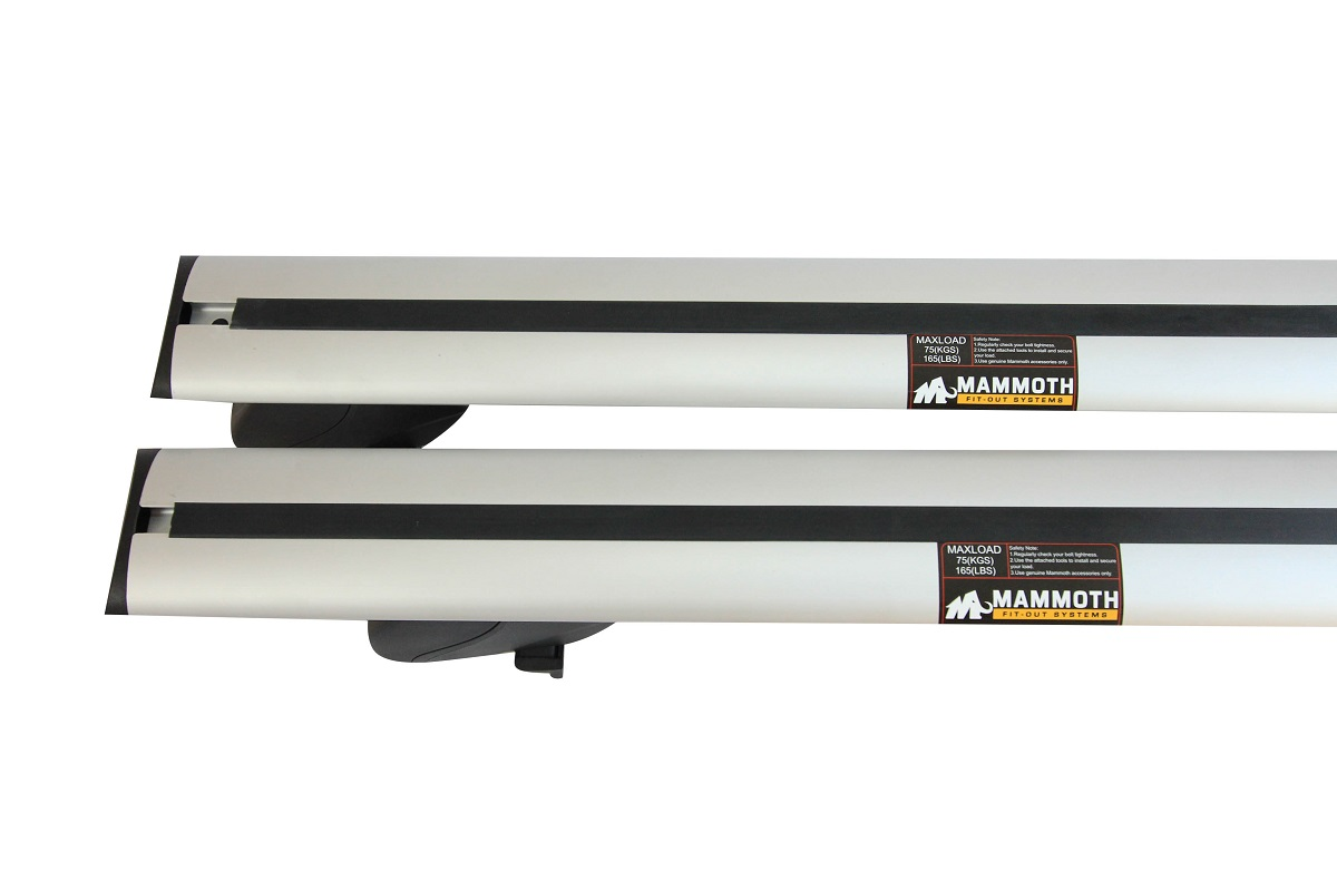 Mammoth Alubar Crossbar Rail Mount